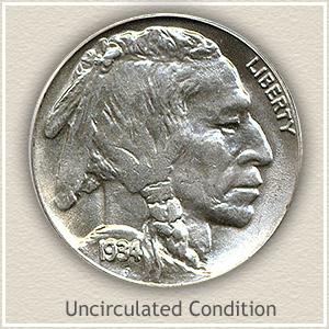 1934 Nickel Uncirculated Condition