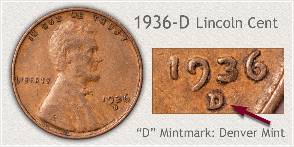 1936-D Lincoln Penny
