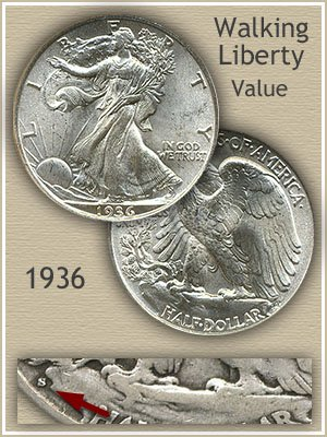 Uncirculated 1936 Half Dollar Value