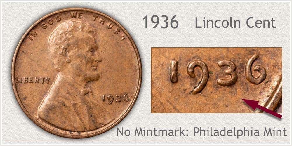 1936 Lincoln Penny