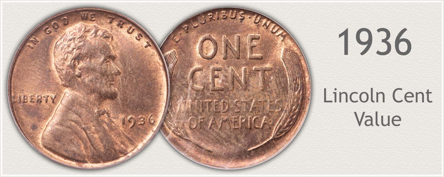 1936 Lincoln Wheat Penny