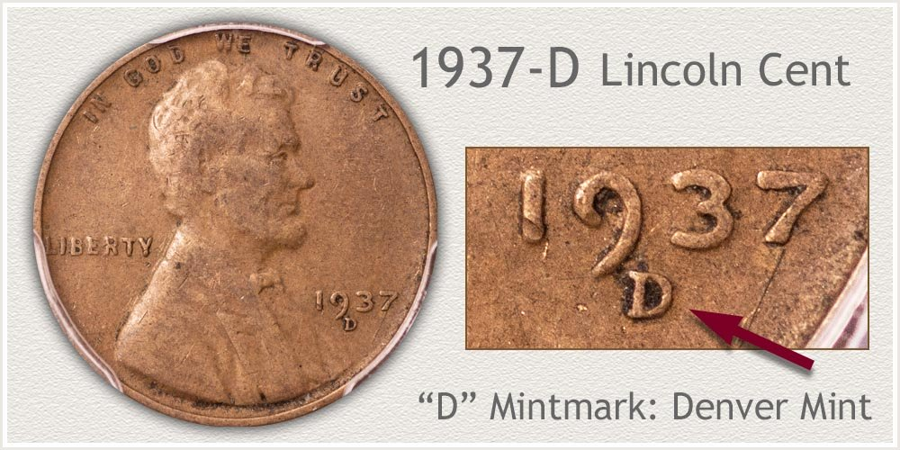 1937-D Lincoln Penny