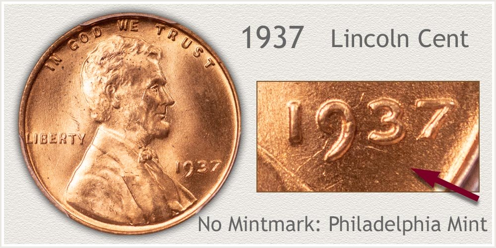 1937 Lincoln Penny