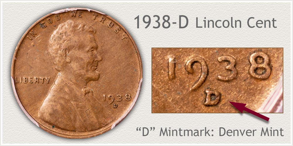 1938-D Lincoln Penny