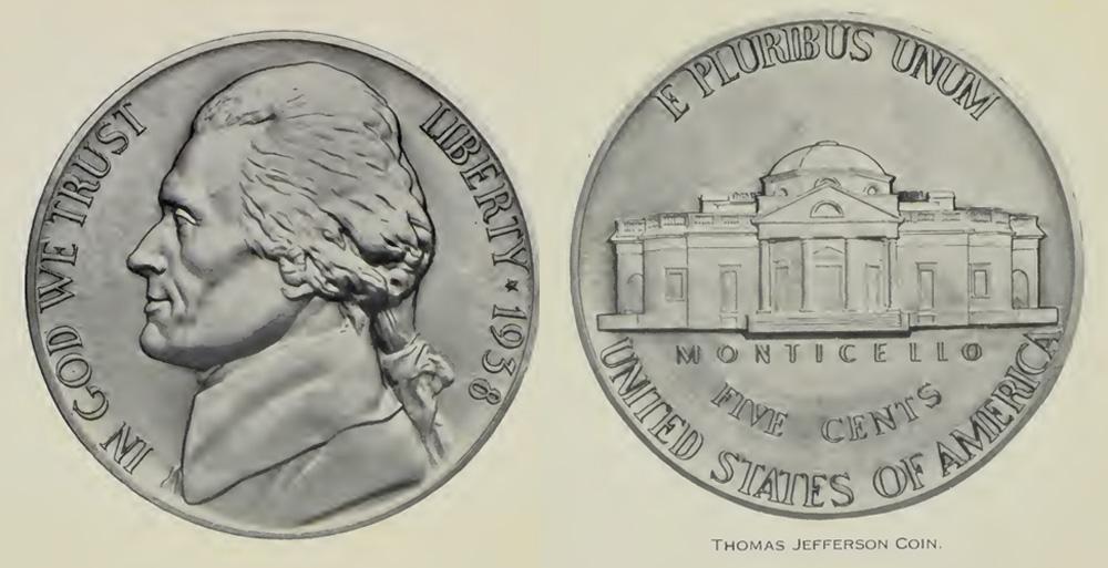 U.S. Mint Image of Jefferson Nickel