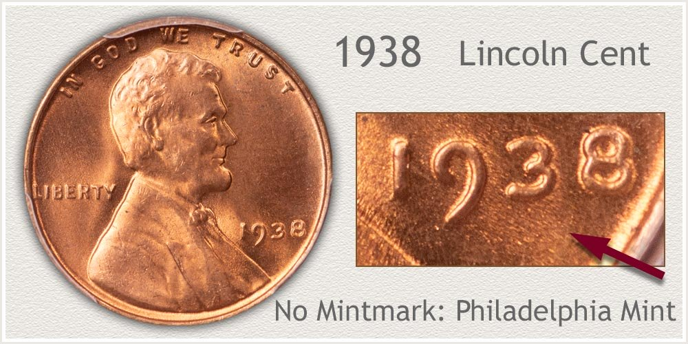 1938 Lincoln Penny
