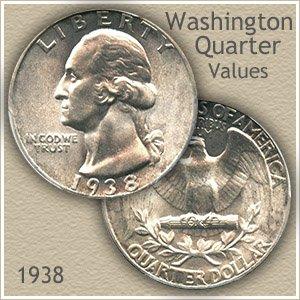 1938 Quarter Value