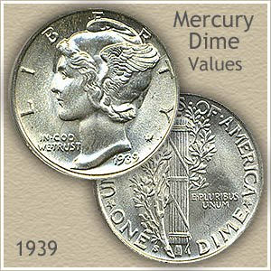 Uncirculated 1939 Dime Value