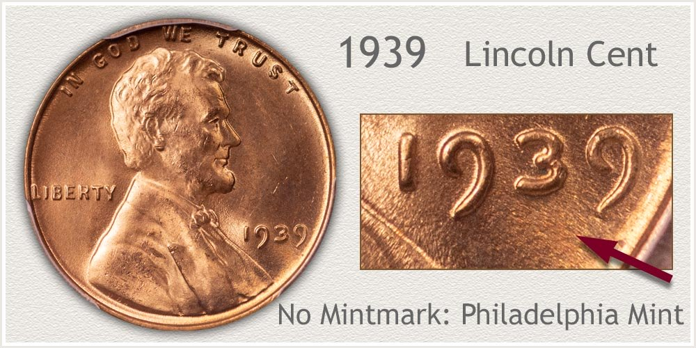 1939 Lincoln Penny