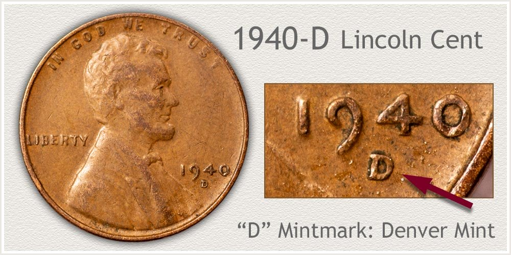1940-D Lincoln Penny