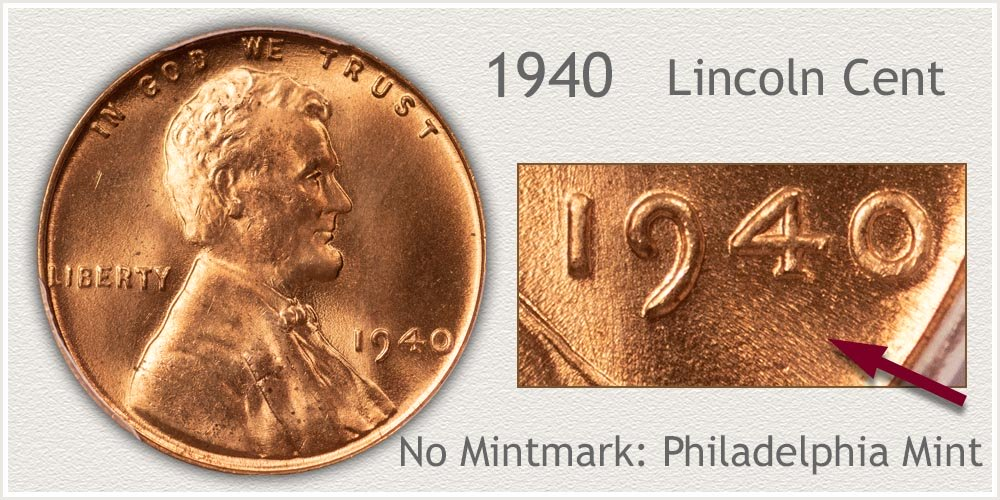 1940 Lincoln Penny