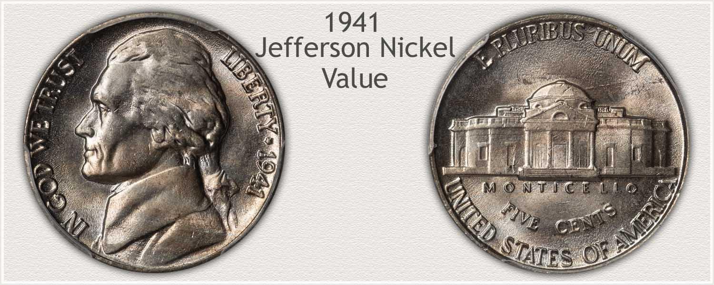 1941 Jefferson Nickel