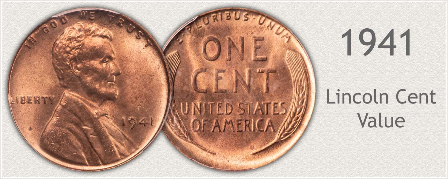 1941 Lincoln Wheat Penny