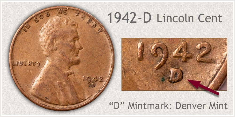 1942-D Lincoln Penny