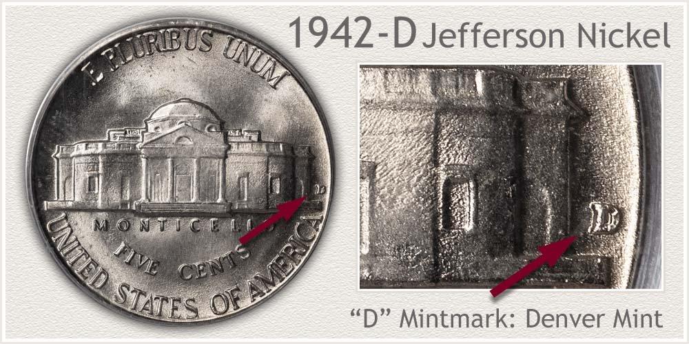 1942-D Jefferson Nickel