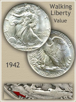 Uncirculated 1942 Half Dollar Value