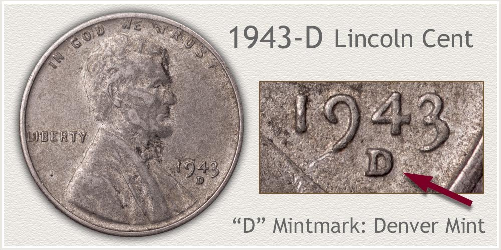 1943-D Lincoln Penny