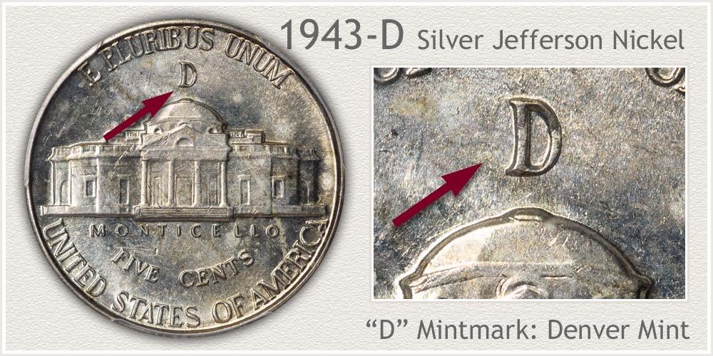 1943-D Jefferson Nickel