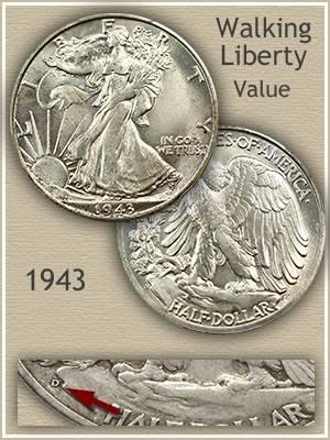 1943 half dollar value discover their worth