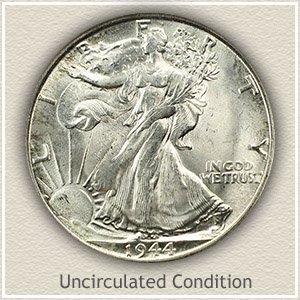 1944 Half Dollar Uncirculated Condition