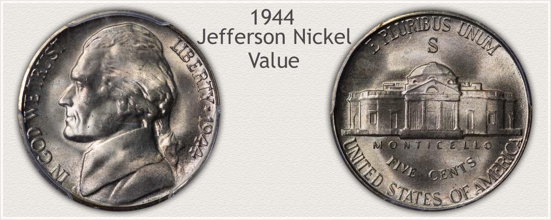 1944 Jefferson Nickel