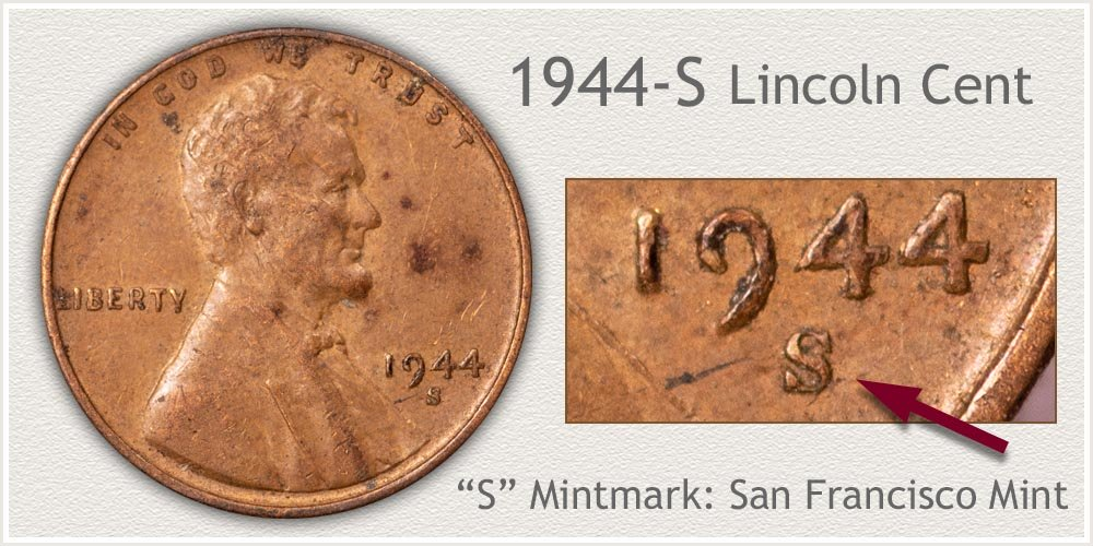 1944-S Lincoln Penny