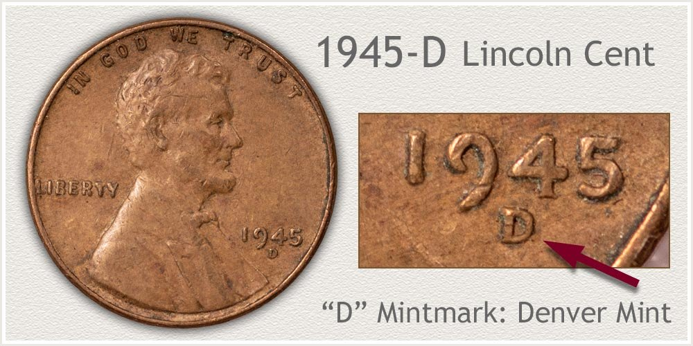 1945-D Lincoln Penny