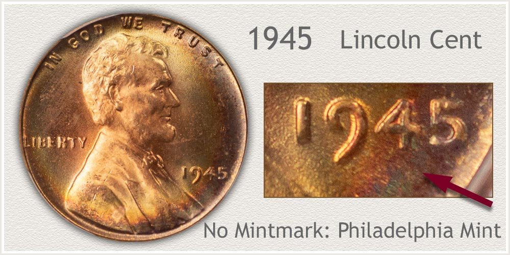 1945 Lincoln Penny
