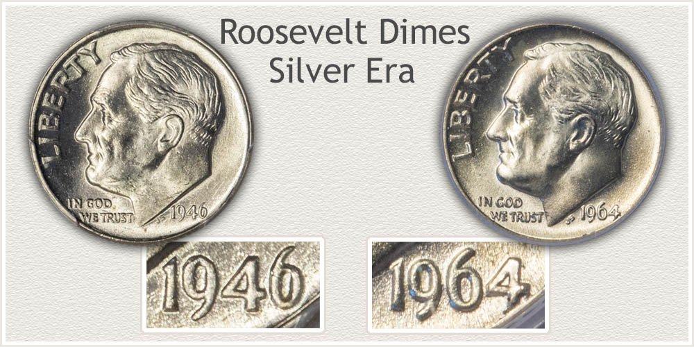 1946 - 1964 Dimes