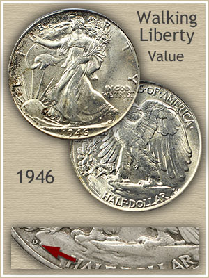 Uncirculated 1946 Half Dollar Value