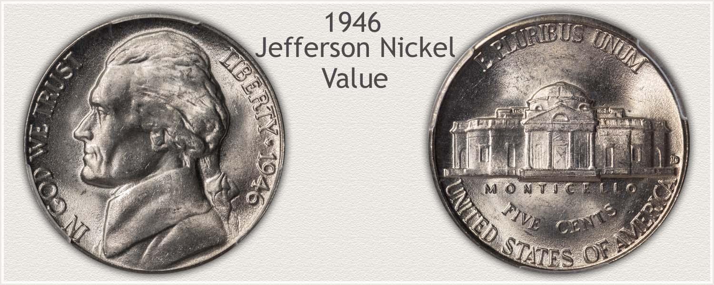 1946 Jefferson Nickel