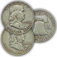 1950 Franklin Half Dollar Circulated Condition