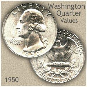 1950 Quarter Value