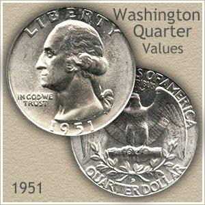 1951 Quarter Value