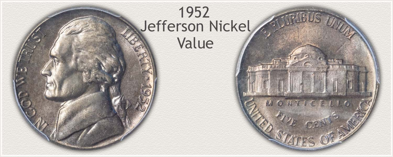 1952 Jefferson Nickel