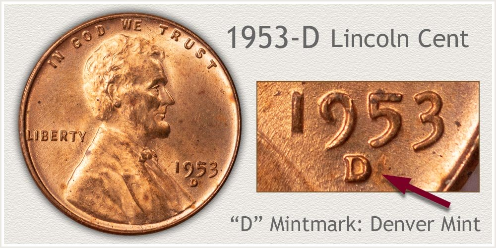 1953-D Lincoln Penny
