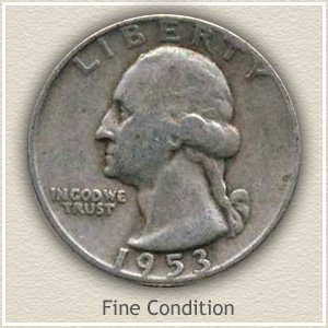 1953 Quarter Fine Condition