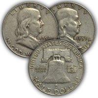 1954 Franklin Half Dollar Circulated Condition