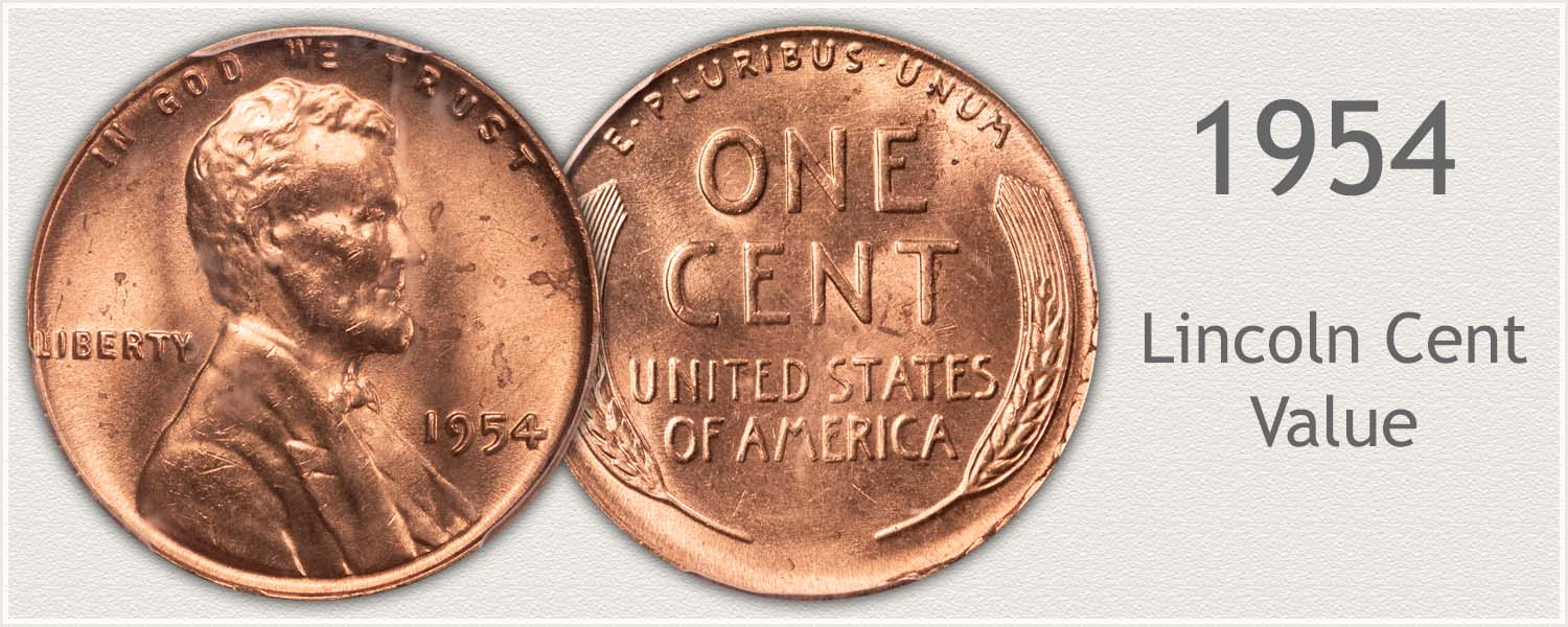 1954 Lincoln Wheat Penny