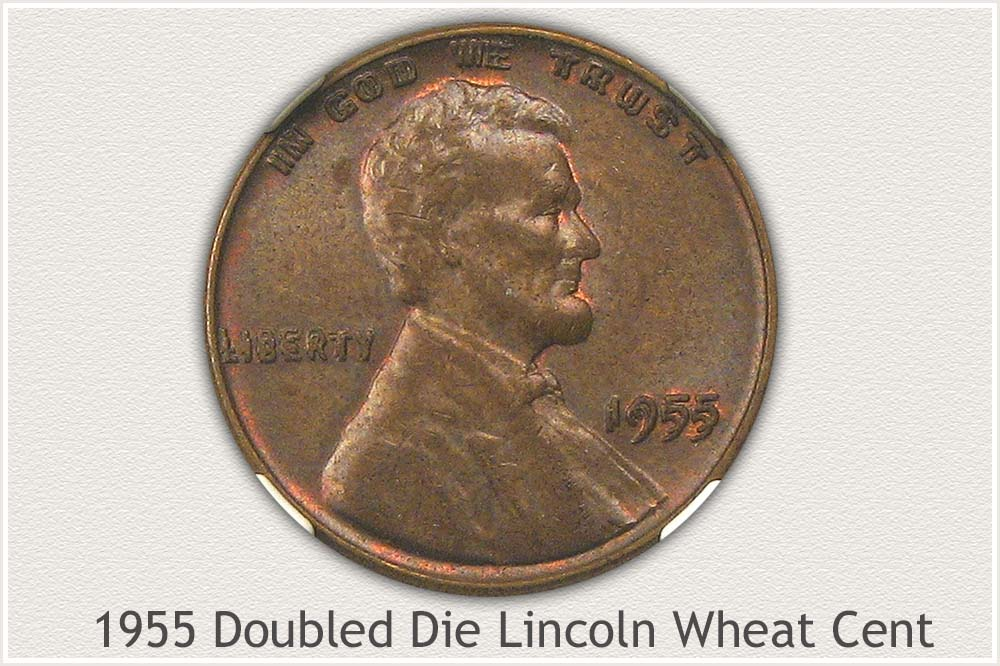 1955 Doubled Die Wheat Penny