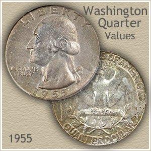 1955 Quarter Value