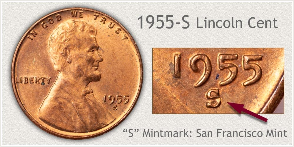 1955-S Lincoln Penny