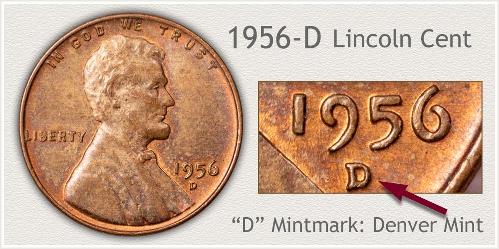 1956-D Lincoln Penny