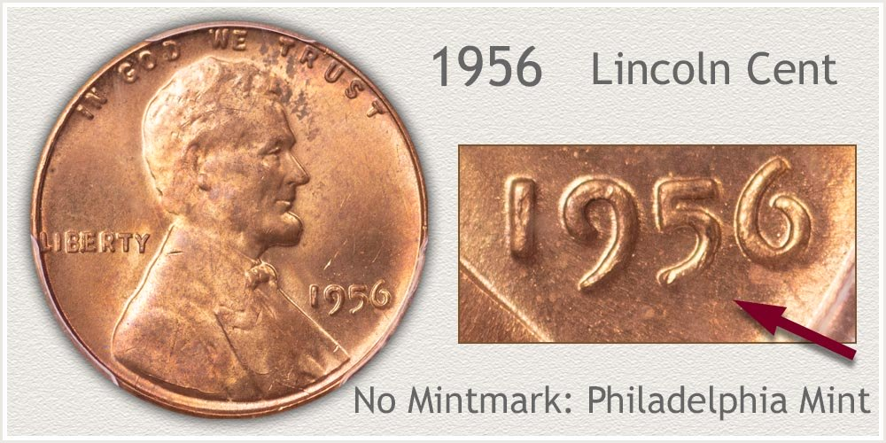 1956 Lincoln Penny