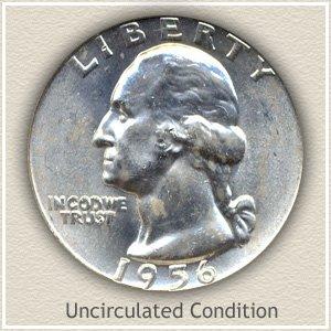 1956 Quarter Uncirculated Condition
