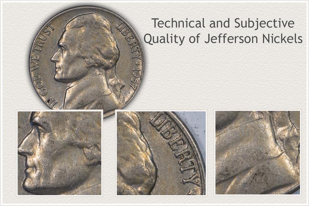 High Quality 1957 Jefferson Nickel