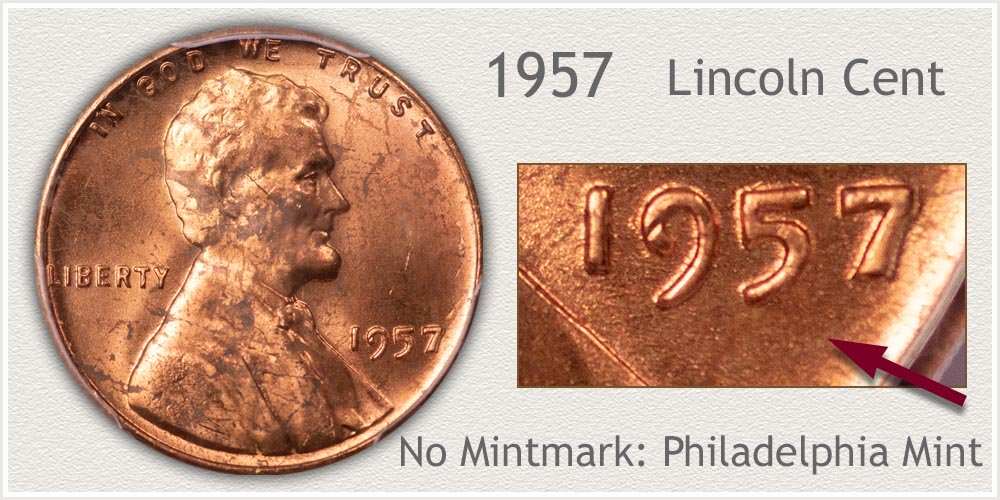 1957 Lincoln Penny