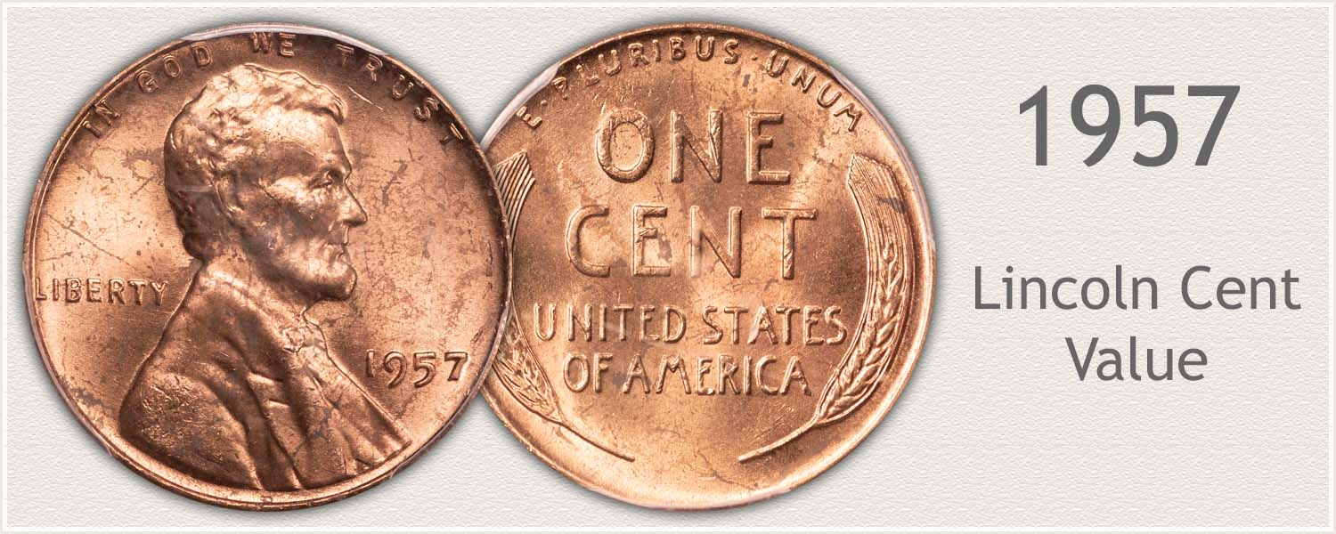 1957 Lincoln Wheat Penny
