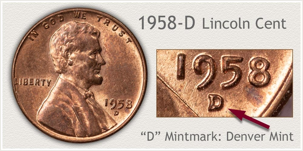 1958-D Lincoln Penny