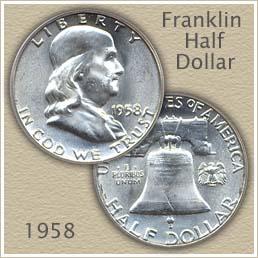 1958 Franklin Half Dollar